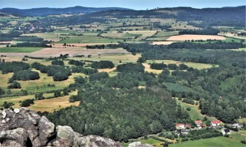 POLSKA / Rudawy Janowickie / Sokolik, 642 m n.p.m. / w Górach Sokolich...