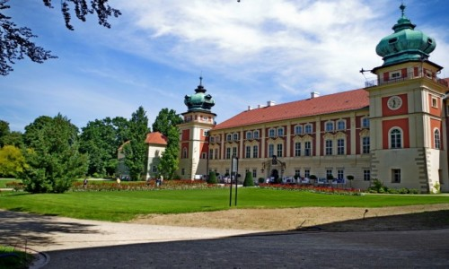 Zdjecie POLSKA / Podkarpacie / Łańcut / - zamek -