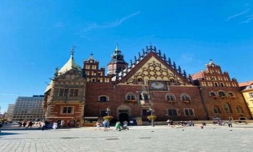 Zdjecie POLSKA / DOLNOŚLĄSKE / WROCŁAW  / Wrocławski ratusz