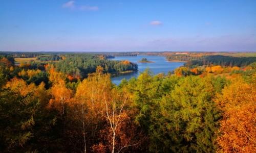 POLSKA / Warmińsko-Mazurskie / Stare Juchy / Jesiennie