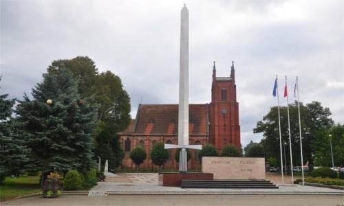 Zdjęcie POLSKA / lubuskie / Dobiegniew / Pomnik Czynu Żołnierskiego w Dobiegniewie