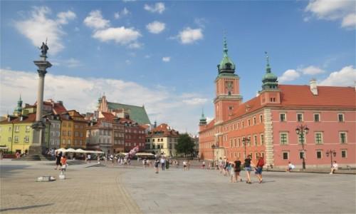 POLSKA / mazowieckie / Warszawa / Plac Zamkowy w Warszawie