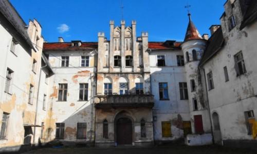 POLSKA / województwo dolnośląskie / Dobrocin / Pałac w Dobrocinie