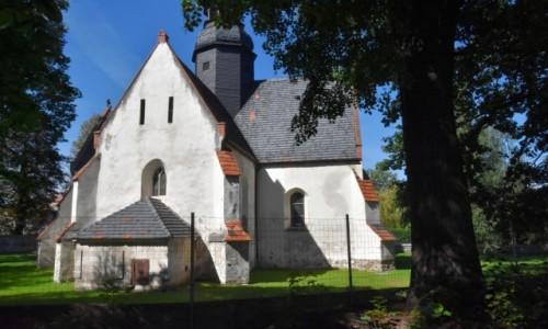 POLSKA / województwo dolnośląskie / Makowice / Kościół w Makowicach