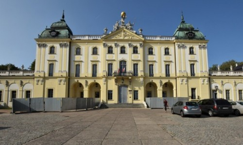 POLSKA / Podlasie / Białystok / Białystok, pałac Branickich