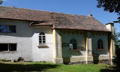 Zdjecie POLSKA / dolnoślaskie / Lubawka / Kościół Wniebowzięcia NMP w Lubawce-Podlesiu widok boczny