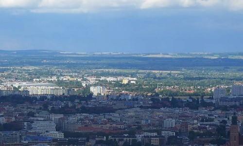 Zdjecie POLSKA / Dolnośląskie / Wrocław / Panorama Wrocławia ze SKY TOWER