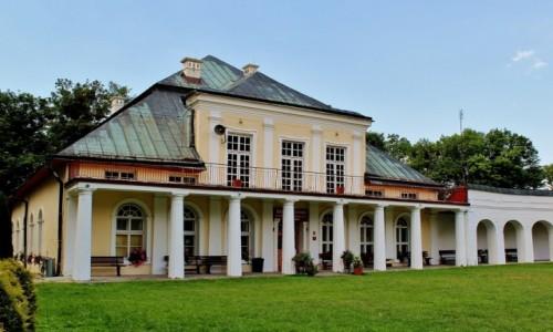 POLSKA / województwo lubelskie / Krasnobród / Pałac Leszczyńskich z XVI wieku