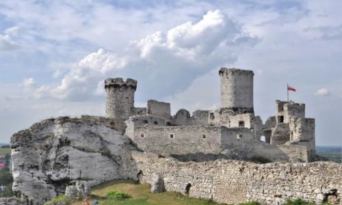 POLSKA / Małopolska / Ogrodzieniec / Ogrodzieniec, zamek