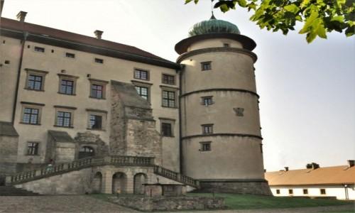 POLSKA / Małopolska / Nowy Wiśnicz / Nowy Wiśnicz, zamek
