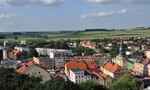 POLSKA / Śląsk Opolski / Otmuchów / Otmuchów, panorama