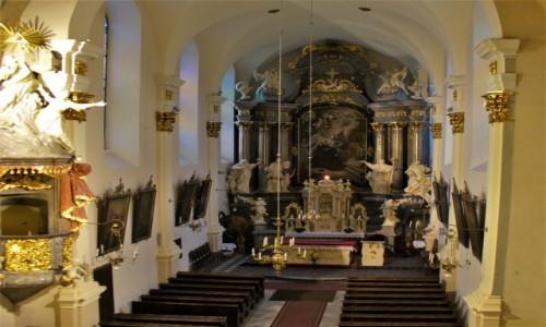 POLSKA / Śląsk Opolski / Głogówek / Głogówek, kościół franciszkański