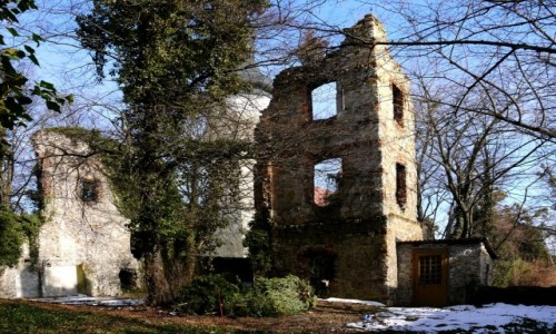 POLSKA / opolskie / Otmęt / Ruiny zamku