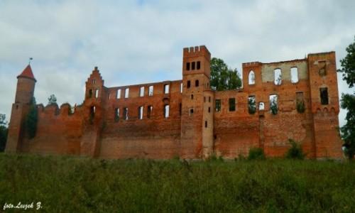 Zdjecie POLSKA / warmińsko-mazurskie / Szymbark koło Iławy. / Szymbark - Ruiny zamku 12 wież.