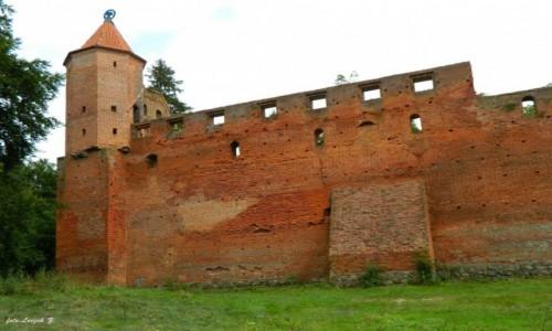 POLSKA / warmińsko-mazurskie / Szymbark koło Iławy. / Szymbark - Ruiny zamku (na życzenie