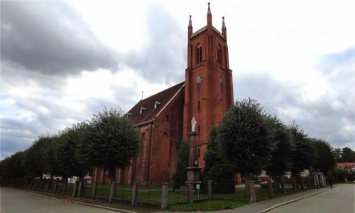 POLSKA / lubuskie / Dobiegniew / Kościół w Dobiegniewie