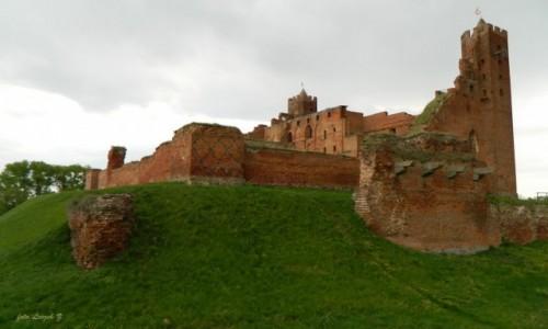 Zdjecie POLSKA / Kujawsko - Pomorskie. / Radzyn Chełmiński. / Radzyn Chełmiński - Ruiny zamku Krzyżackiego.