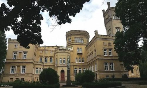 POLSKA / Kujawsko - Pomorskie. / Jabłonowo Pomorskie. / Jabłonowo Zamek - Pałac Narzymskich.