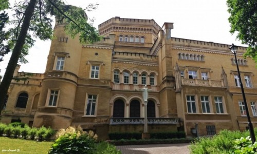 POLSKA / Kujawsko - Pomorskie. / Jabłonowo Pomorskie. / Jabłonowo Zamek - Zamek/Pałac Narzymskich.