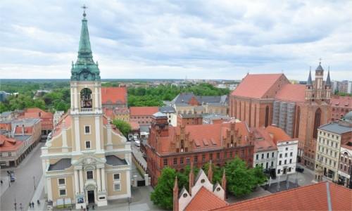 Zdjecie POLSKA / kujawsko-pomorskie / Toruń / Widok z wieży Ratusza
