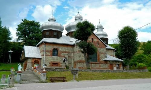 Zdjęcie POLSKA / pow. nowosądecki. / gmina Muszyna. / Żegiestów Wieś - kościół św. Anny.