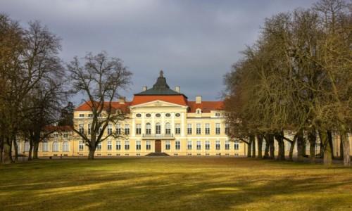 POLSKA / wielkopolskie / Rogalin / Pałac w Rogalinie
