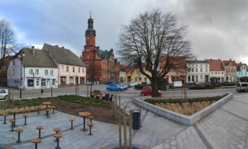 Zdjęcie POLSKA / lubuskie / Drezdenko / Stary Rynek w Drezdenku