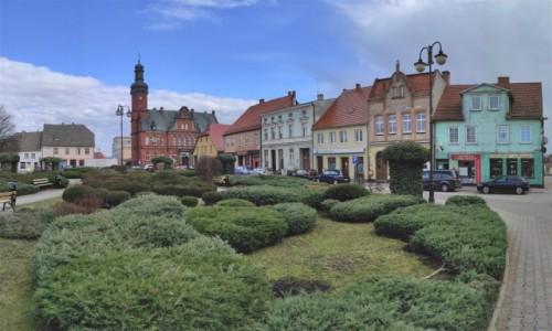 POLSKA / lubuskie / Drezdenko / Rynek w Drezdenku