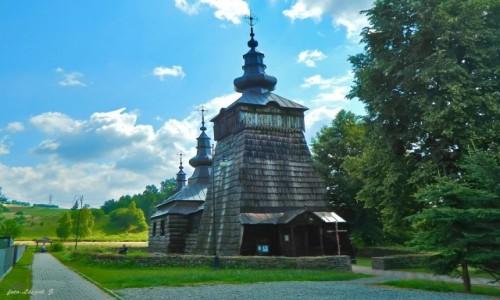 POLSKA / pow. nowosądecki. / gmina Muszyna. / Szczawnik - cerkiew św. Dymitra.