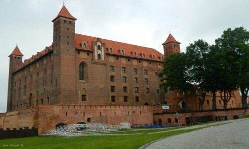 Zdjecie POLSKA / woj.pomorskie. / pow. Tczew. / Gniew - zamek krzyżacki.