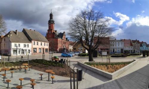POLSKA / lubuskie / Drezdenko / Stary Rynek w Drezdenku
