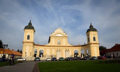 POLSKA / Podlasie / Tykocin / Kościół Trójcy Przenajświętszej w Tykocinie