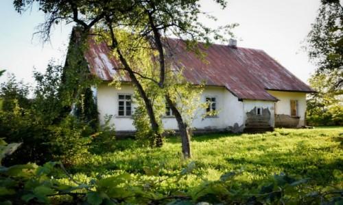 Zdjecie POLSKA / Podlasie / Podlasie / Opuszczony dom na Podlasiu