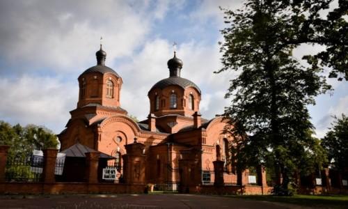 POLSKA / Podlasie / Białowieża / Cerkiew Św. Mikołaja w Białowieży