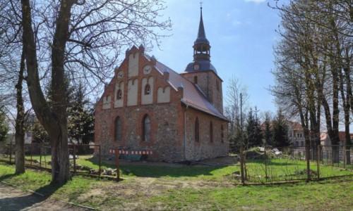 POLSKA / zachodniopomorskie / Korytowo / Kościół w Korytowie