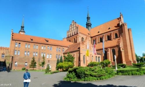 POLSKA / woj.pomorskie. / pow.Tczew. / Pelplin - Bazylika  Katedralna pw. Wniebowzięcia Najświętszej Maryi Panny.
