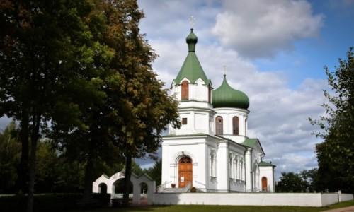 Zdjęcie POLSKA / Podlasie / Narewka / Cerkiew w Narewce
