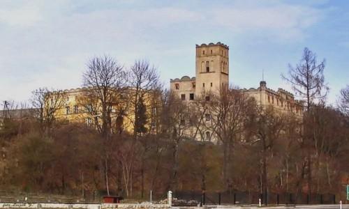 Zdjecie POLSKA / woj. dolnośląskie. / pow.kłodzki, gmina Radków. / Ratno Dolne - zamek.