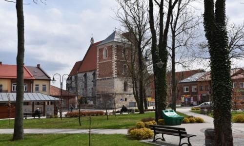 Zdjęcie POLSKA / Ponidzie / Ponidzie / Kościół w Wislicy