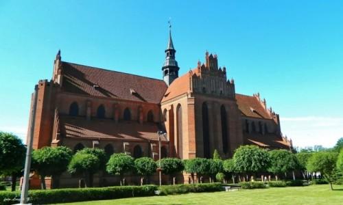 Zdjecie POLSKA / woj.pomorskie. / pow.Tczew. / Pelplin - Bazylika  Katedralna pw. Wniebowzięcia Najświętszej Maryi Panny.