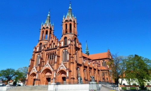 Zdjecie POLSKA / woj.podlaskie. / Białystok. / Białystok - - Bazylika archikatedralna Wniebowzięcia Najświętszej Maryi Panny.