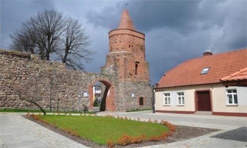 POLSKA / lubuskie / Strzelce Krajeńskie / Baszta Więzienna w Strzelcach Krajeńskich