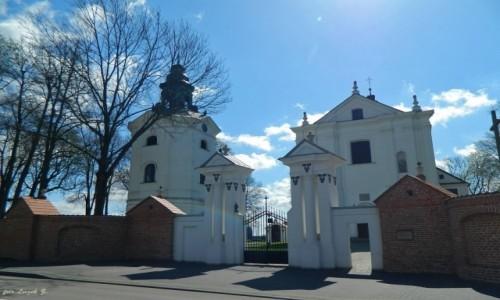 POLSKA / woj.podlaskie. / pow.bielski. / Boćki - Sanktuarium św. Antoniego Padewskiego.