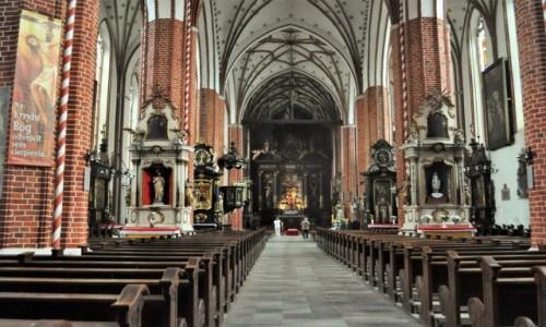 Zdjecie POLSKA / Kujawsko Pomorskie / Chełmża / Chełmża, dawna katedra diecezji Chełmińskiej