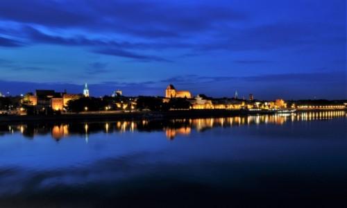 POLSKA / Kujawsko Pomorskie / Toruń / Toruń, panorama