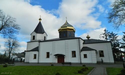 Zdjecie POLSKA / woj.podlaskie. / pow.bielski. / Bielsk Podlaski - cerkiew katedralna Zmartwychwstania Pańskiego.