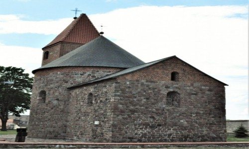 POLSKA / Kujawsko Pomorskie / Strzelno / Strzelno, Rotunda św. Prokopa