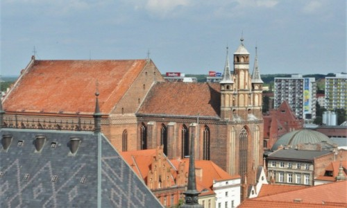 Zdjecie POLSKA / Kujawsko Pomorskie / Toruń / Toruń, kościół pofranciszkański