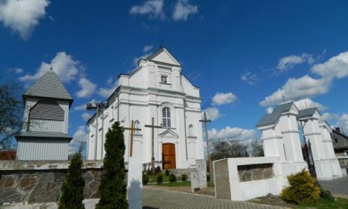 Zdjęcie POLSKA / woj.podlaskie. / pow. hajnowski. / Kleszczele - kościół św. Zygmunta Burgundzkiego.