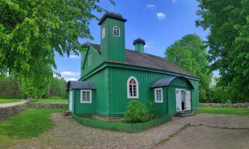 POLSKA / podlaskie / Kruszyniany / Drewniany meczet w Kruszynianach